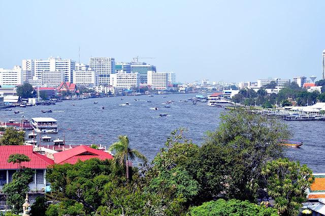 El río Chao Prahya en Bangkok