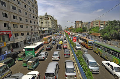 Dhaka city road