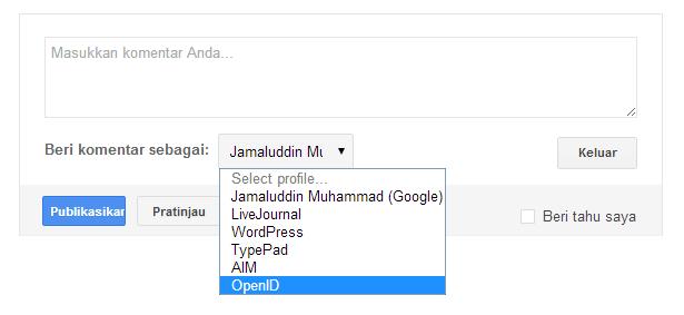 Cara Menambah Links In Alexa Menggunakan OpenID
