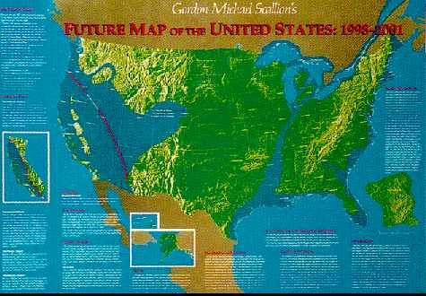 Us Navy Map Of Future America - Us navy future map of united states