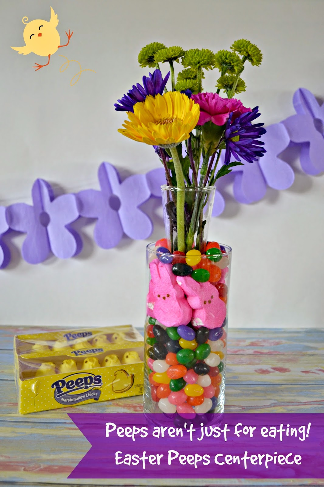 #DIY Easter PEEPS® Centerpiece