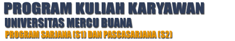 Kelas Karyawan Sabtu Minggu S1 S2 Jakarta Depok Bekasi