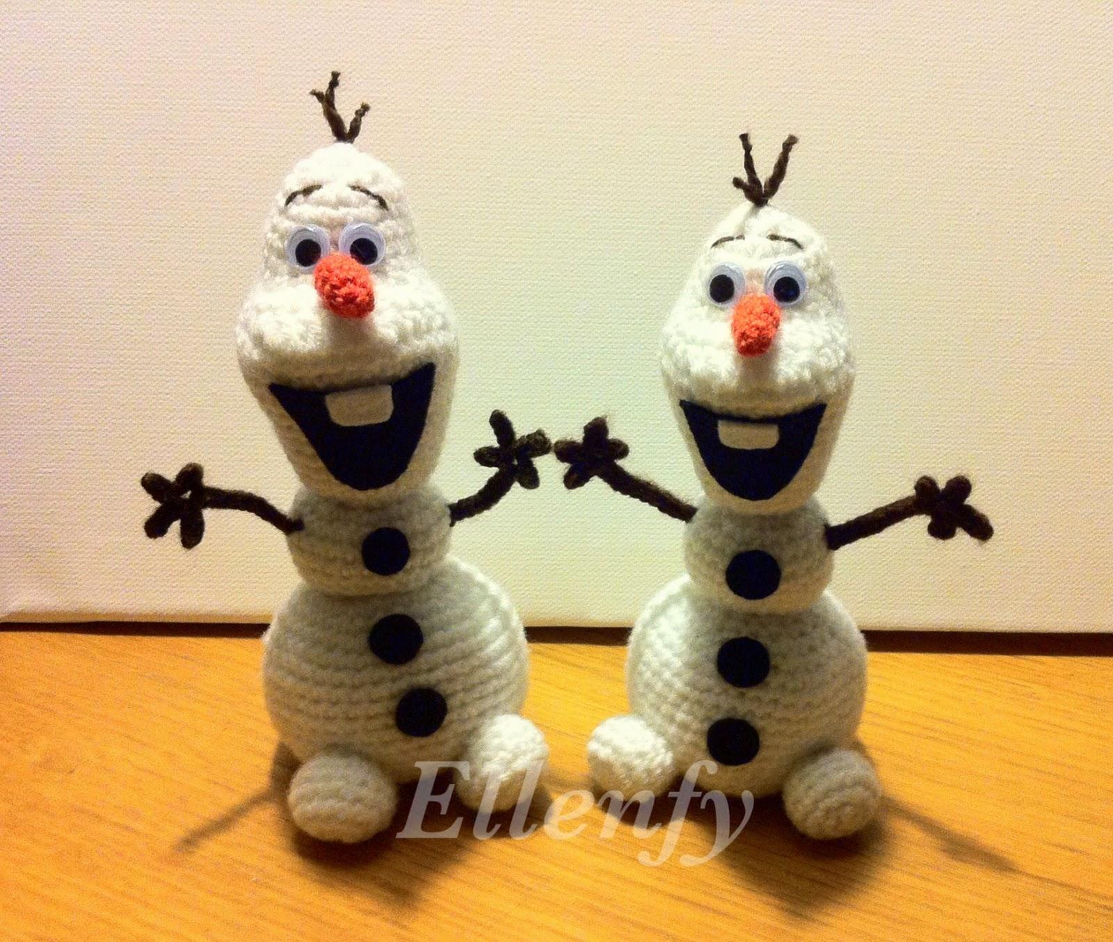 ~ Ellenfy ~: Olaf Amigurumi - Disney Frozen