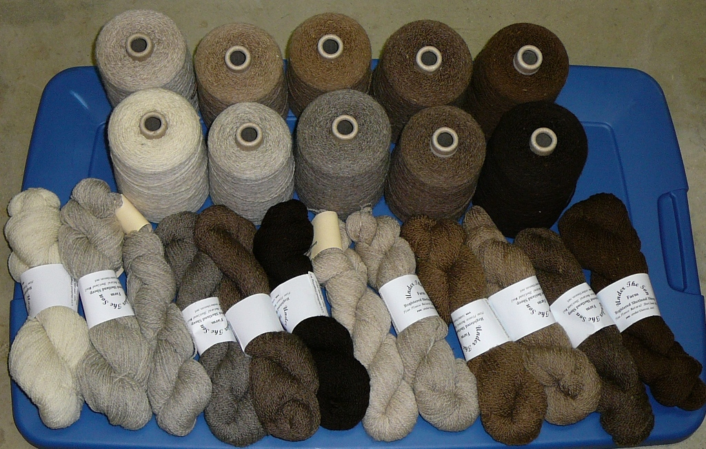 Under The Son Farm: For Sale: Yarn