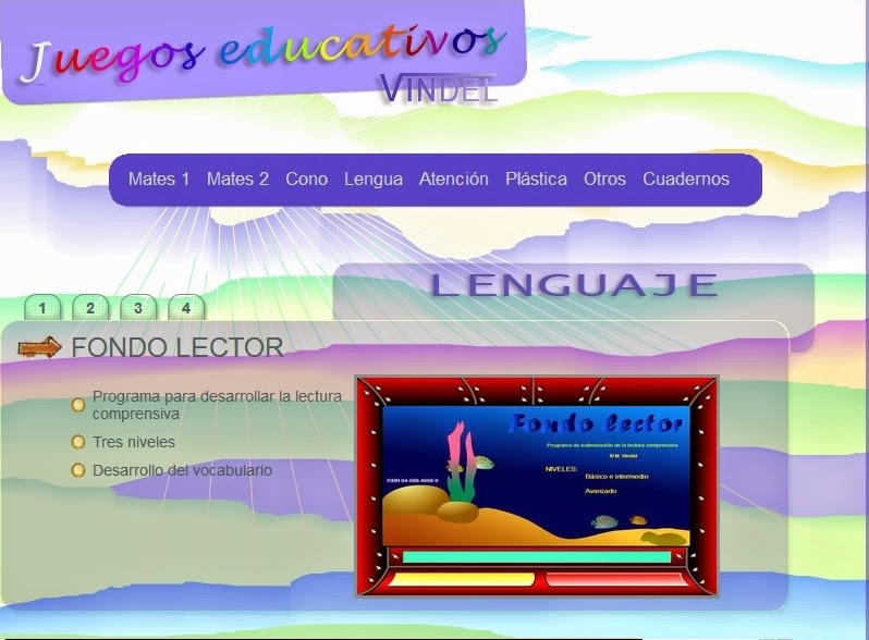 http://www.juegoseducativosvindel.com/lengua.php