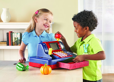 Learning Resources Teaching Cash Register in playing