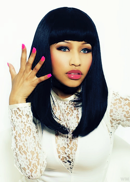 nicki minaj hairstyles in super bass. nicki minaj super bass