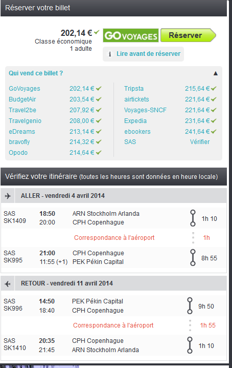 Vol low cost Chine
