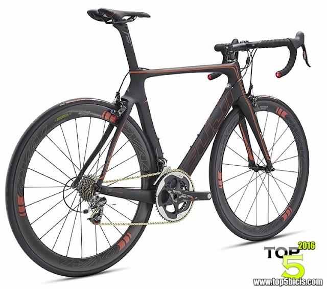 FUJI TRANSONIC SL, una bici a la altura de las mejores