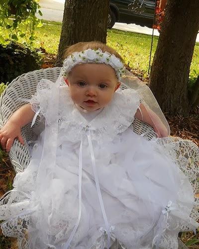 Robe de bapteme bébé fille