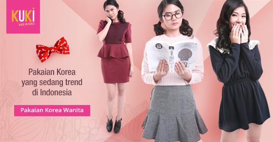 Fashion Korea Wanita Yang Sedang Trend