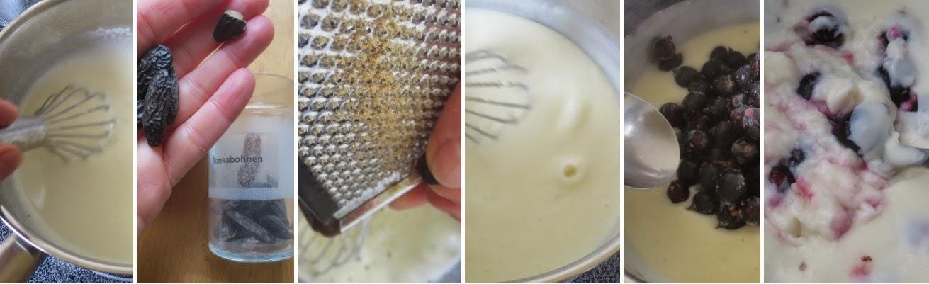 Zubereitung Weißer Schokopudding