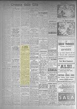 L' ECO DI BERGAMO DEL 19 MAGGIO 1945