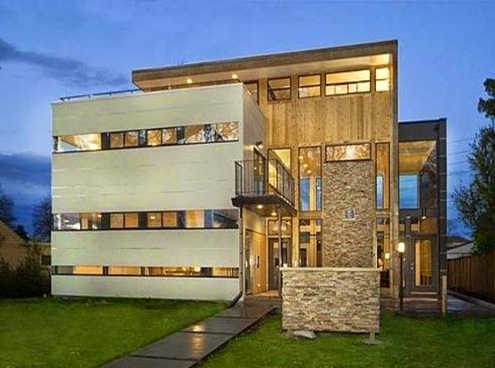 Fachadas de piedra fachadas de casas modernas en piedra - Piedras para fachadas de casas modernas ...