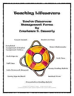Twelve Classroom Management Forms