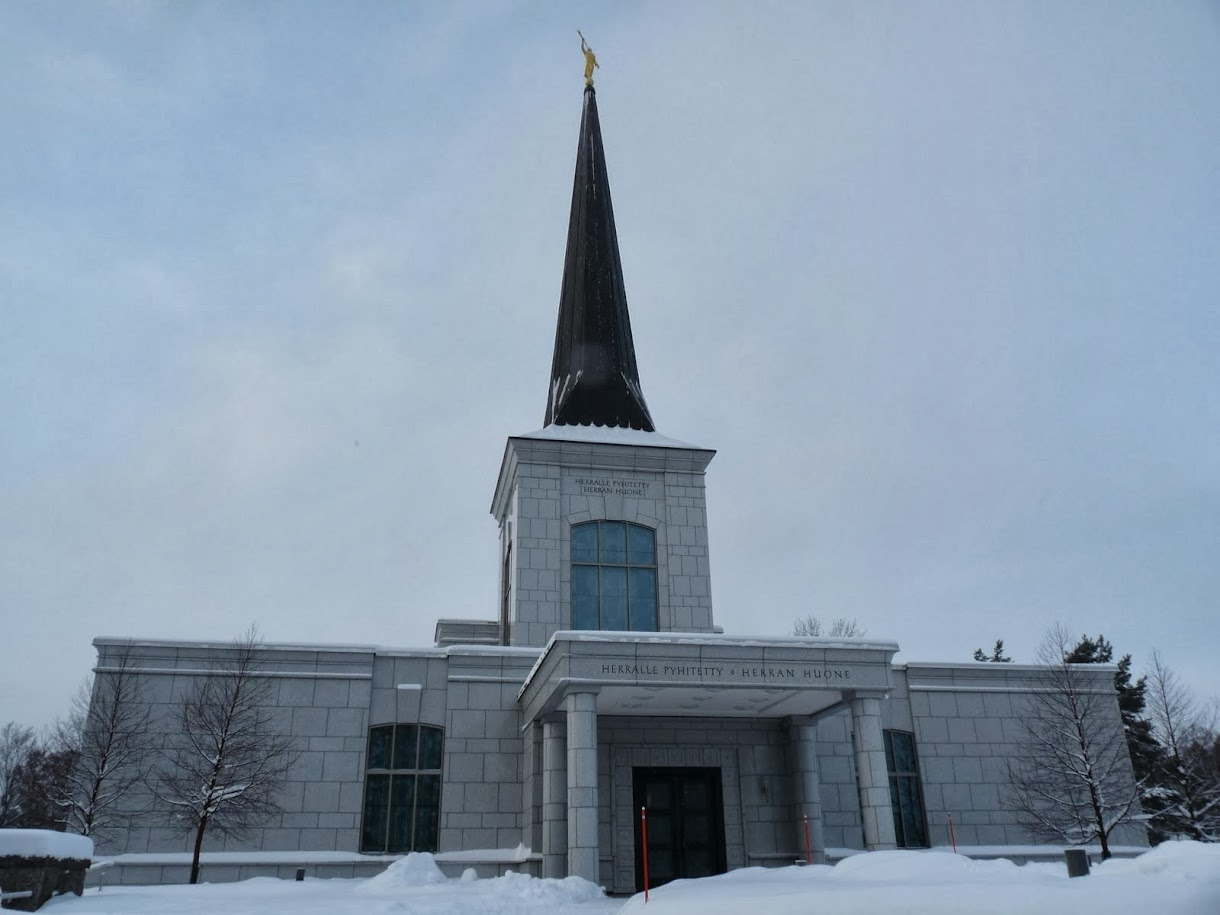 The Helsinki Finland Temple