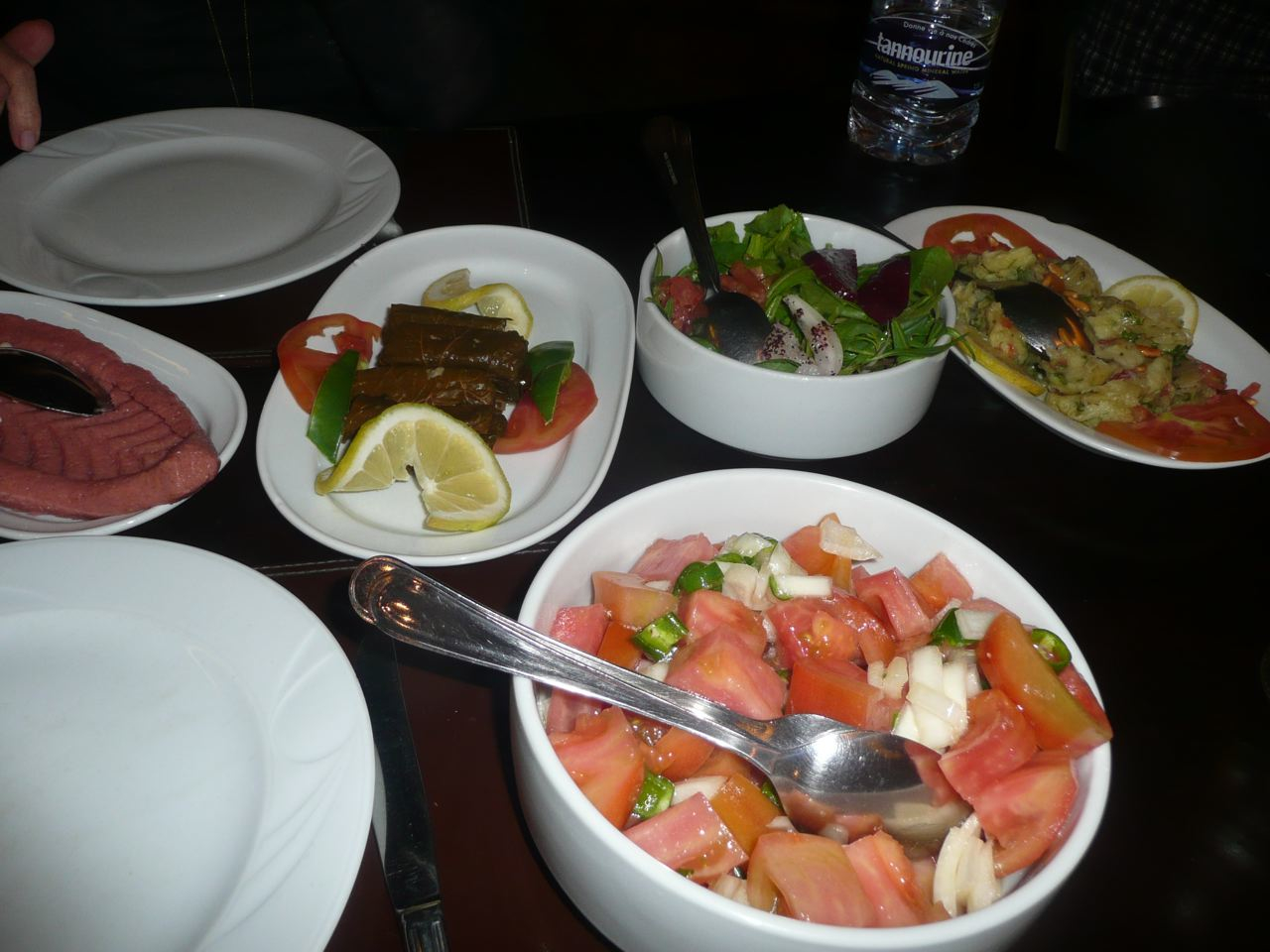 What 39 s happening in lebanon another fine mezze by bruce for Anissa helou lebanese cuisine