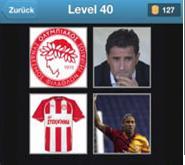 solution quiz de football niveau 40