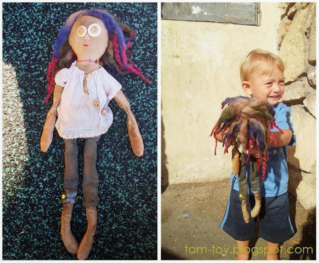 примитивная кукла