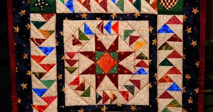 Scrapbox Quilts Dizzy Geese Finished