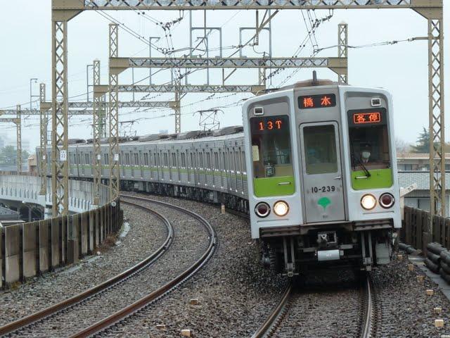 京王電鉄 各停 橋本行き6 都営10-000形230F(節電ダイヤに伴う運行)