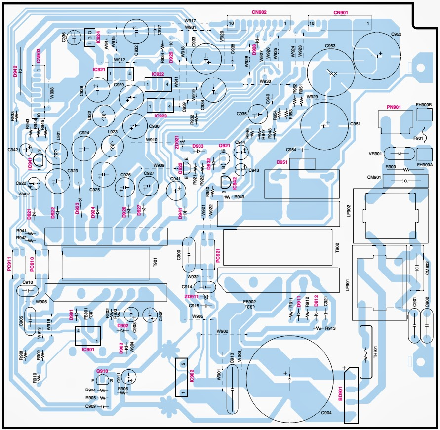 untitled.bmp kenwood dvr 6300 smps (power supply) schematic (circuit Basic Electrical Wiring Diagrams at reclaimingppi.co