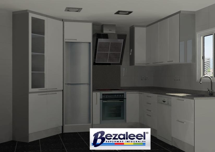 Oferta de muebles de cocina y encimeras reformas bezaleel - Oferta reforma cocina ...