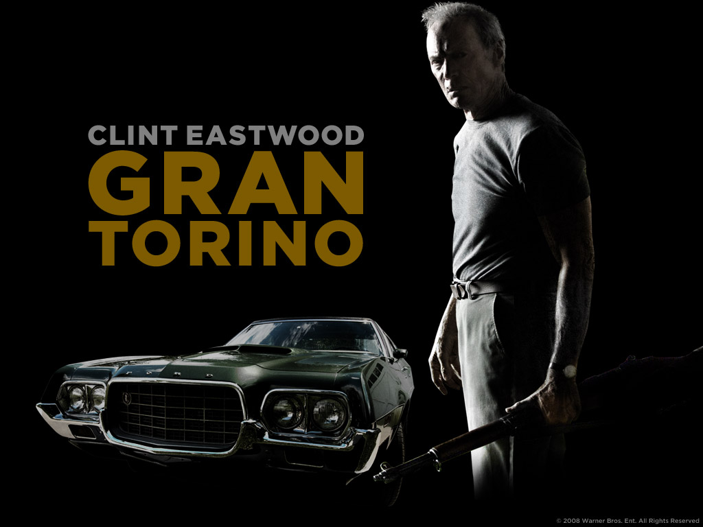 Ford Gran Torino Clint Eastwood >> Because I had to: Gran Torino