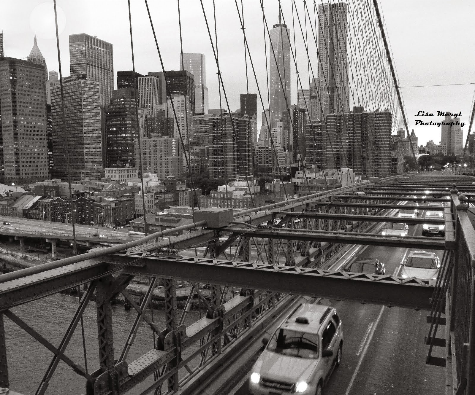 Walking Over The Brooklyn Bridge