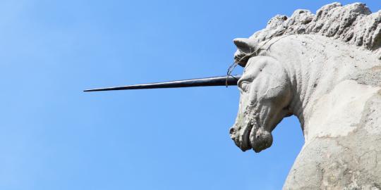 Sarang unicorn ditemukan di Korea Utara!