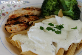 Cream Cheese Alfredo Sauce