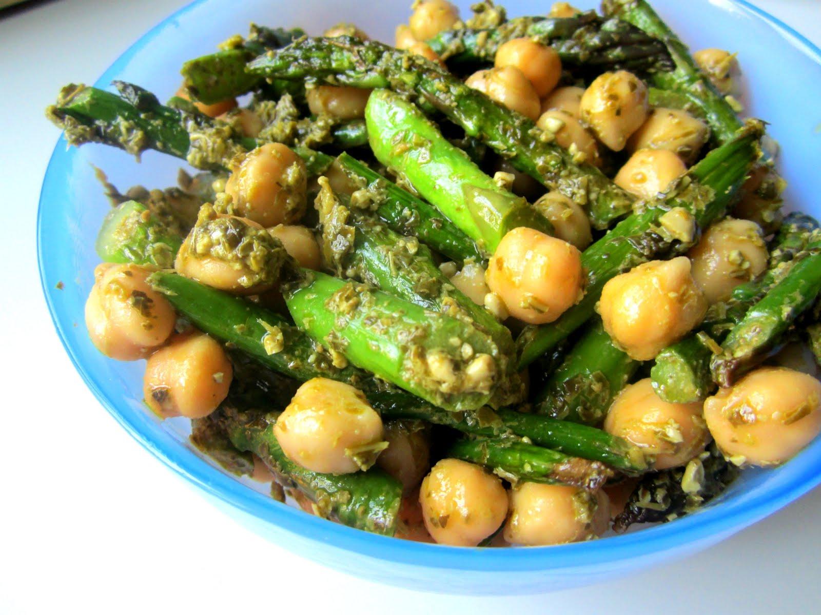 Stacey Snacks: Chickpea & Asparagus Salad