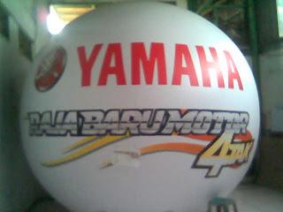 Balon Pantai Yamaha