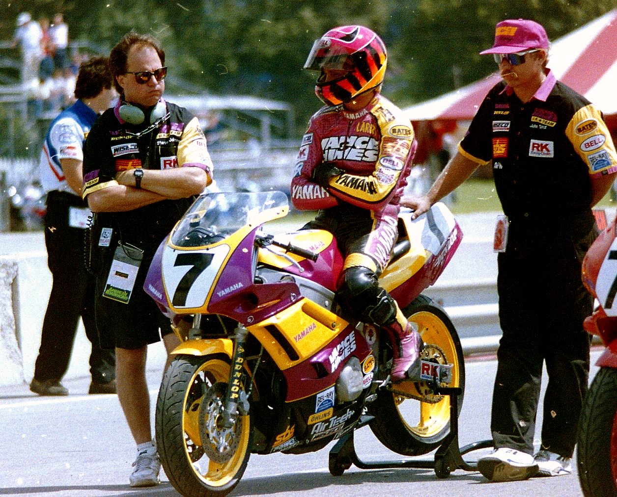 Stus Shots R Us  AMA Road Racing  Cycle News Larry Lawrence