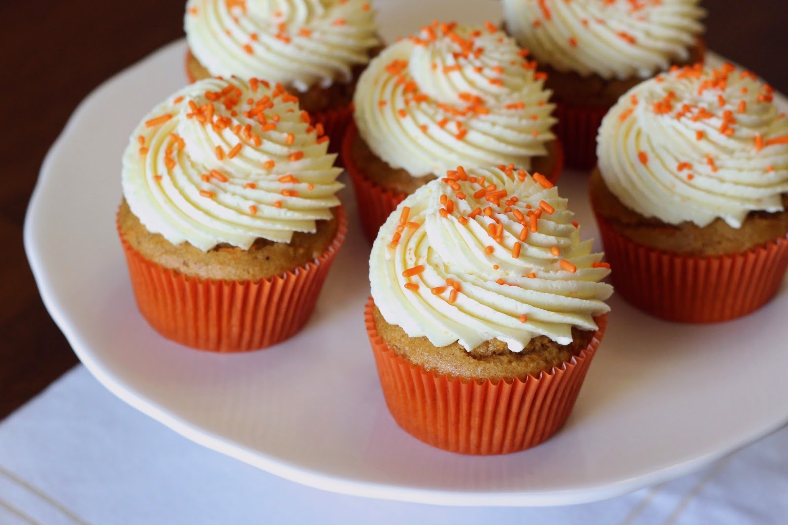 Stuffed Carrot Cake Cupcakes
