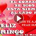 Feliz Domingo - Para una persona genial, maravillosa, estupenda - Este vídeo es para ti porque te quiero tanto