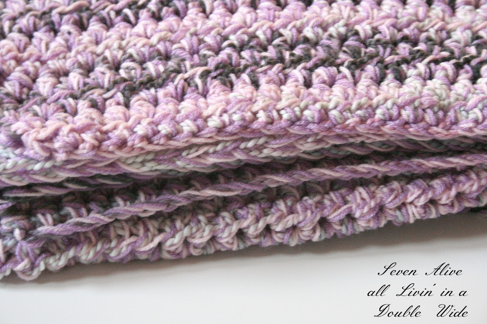 Crochet Patterns Using Chunky Yarn : Speedy Chunky Afghan