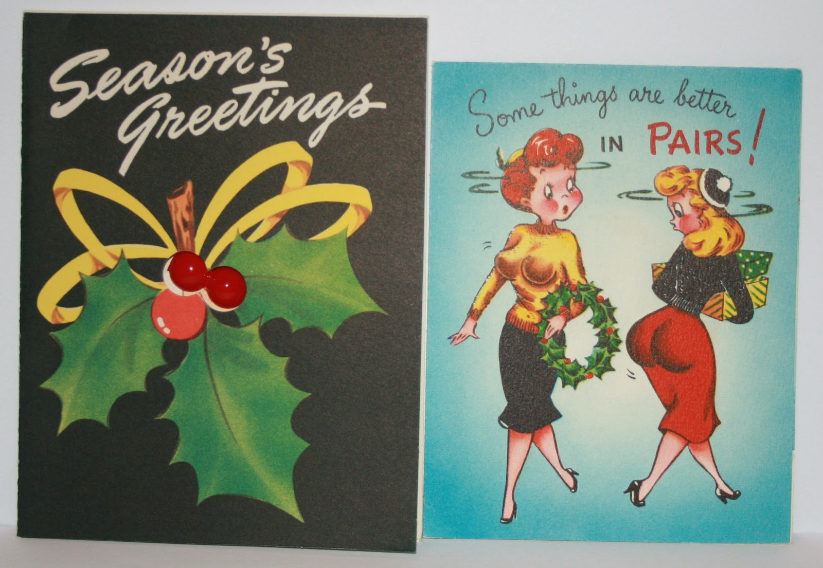 1940's Style For You: 1940's Christmas cards