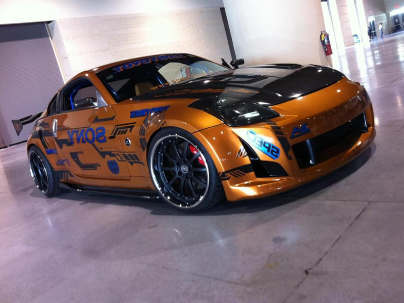 nissan 350z custom paint