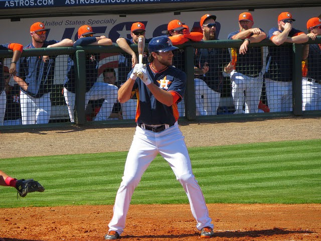 Jake Marisnick Astros - Flickr BeGreen90