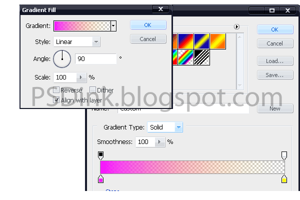 klik icon add adjustment layer photo filter ubah blending