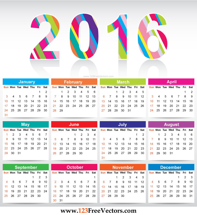 Yearly calendar 2016 to print HD | calendars 2017 kalendar 2017 ...