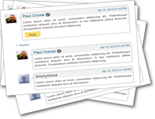 Blogger Threaded Comments Style