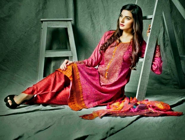 Shariq Designer Embroidered Collection 2014