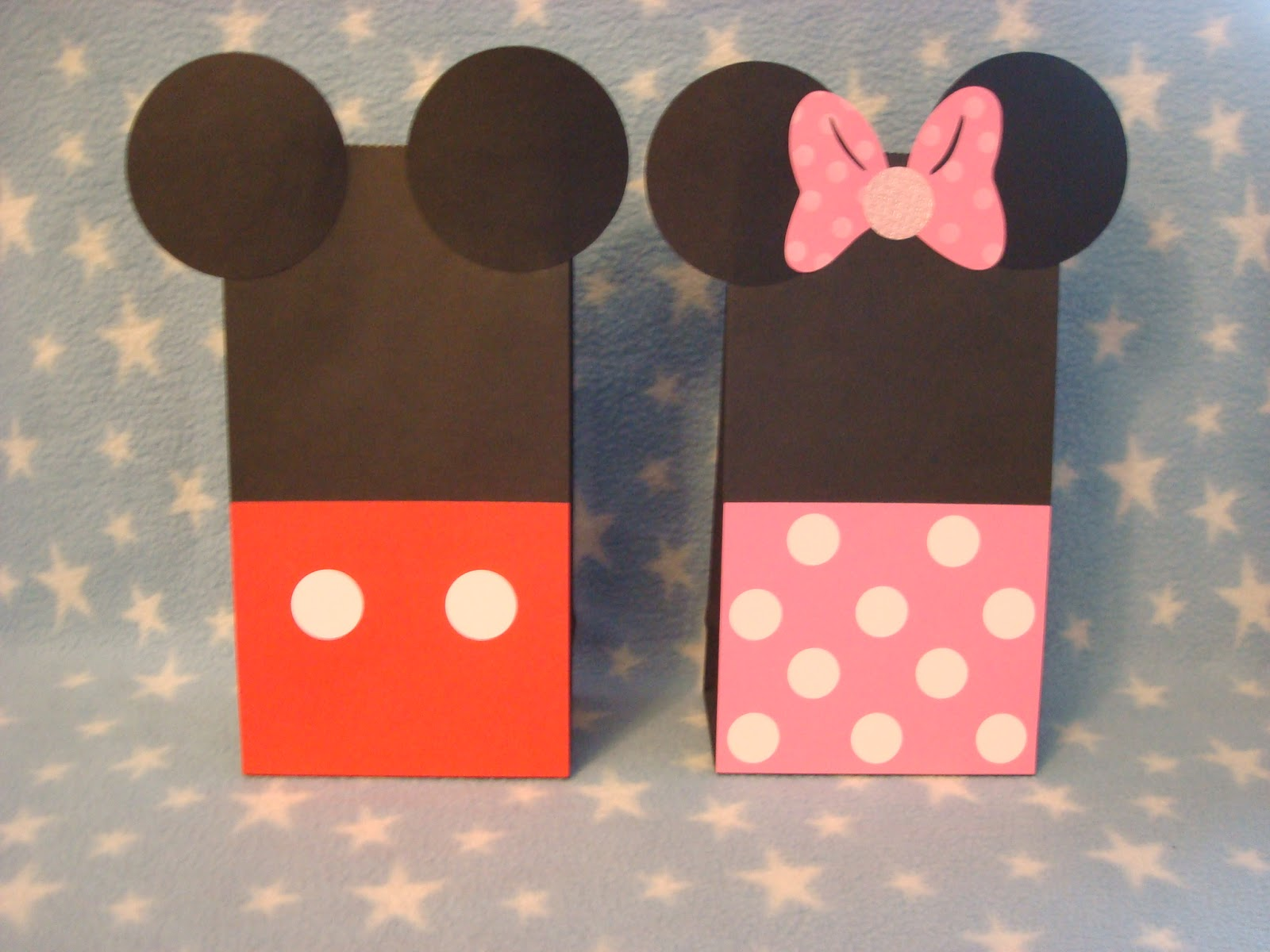 Creative Trendz Design Minnie Mouse Party DIY Loot Bags