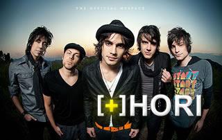 Agenda de shows da banda Hori