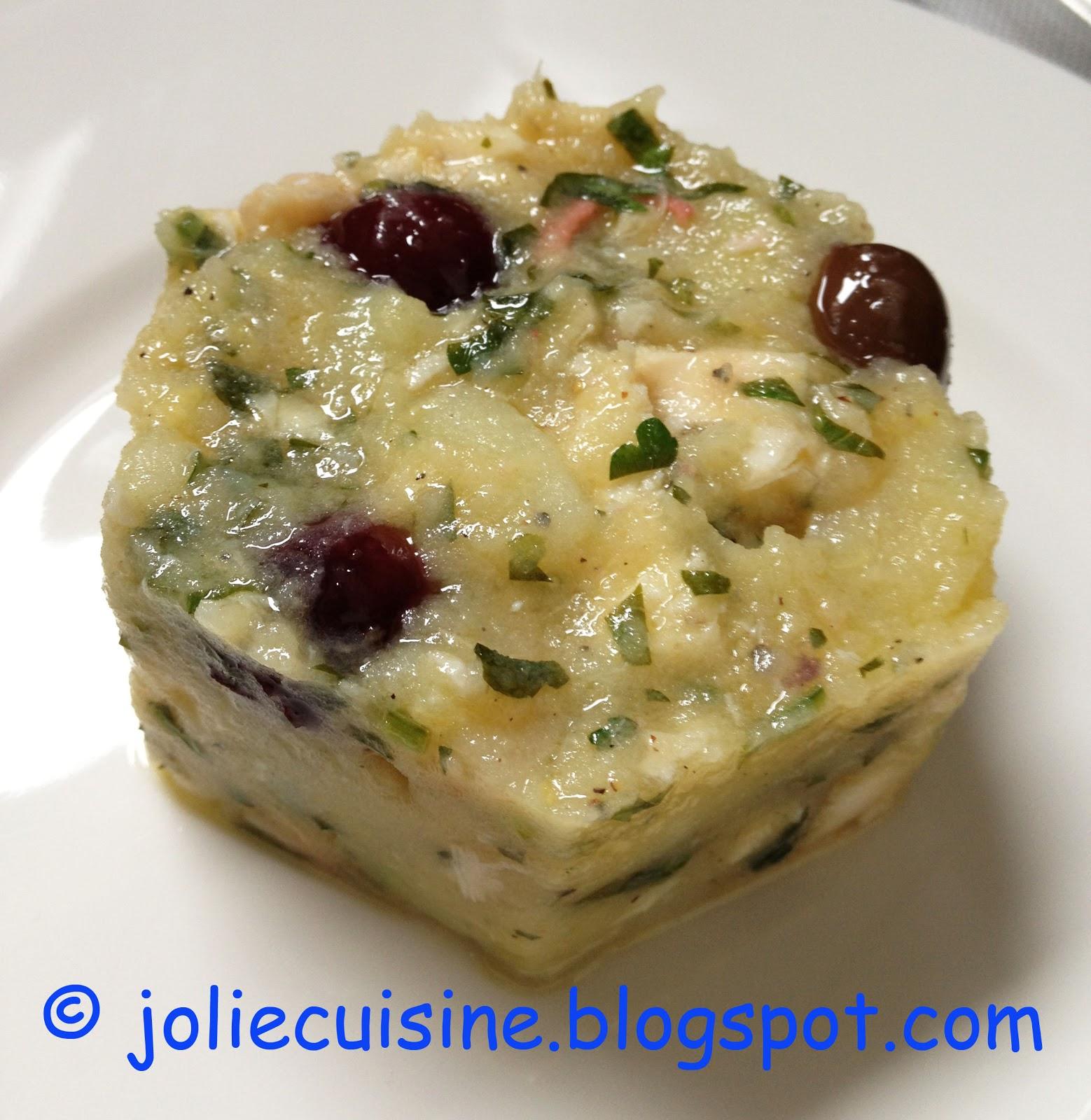 Jolie cuisine tortino tiepido di polipo e patate - Jolie cuisine ...