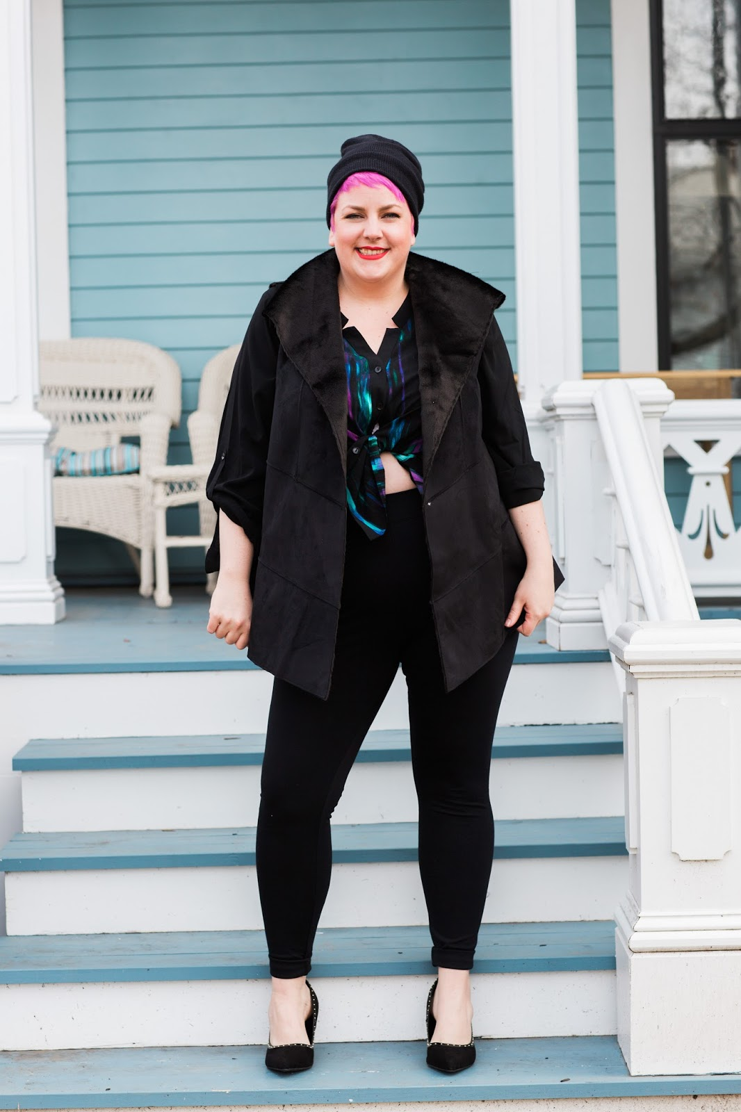 margie plus : holiday blogger weekend with catherines plus sizes!