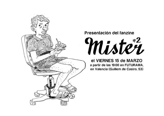 presentacion fanzine mister 2