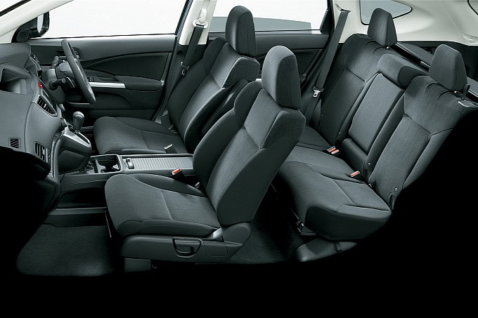 Interior All New Honda CRV 2012